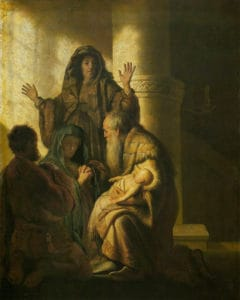 Simeon's Prophecy to Mary